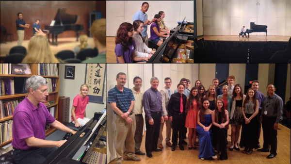 photo of Piano Camp students